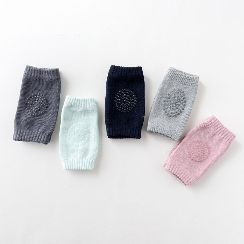 Winter cotton knee socks thick baby knee protectors baby crawling elbow knee pads