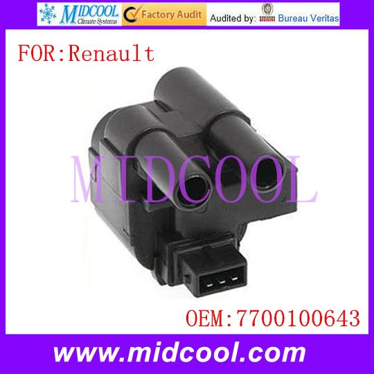 Новый катушка зажигания использования OE NO. 7700100643 для Renault Kangoo