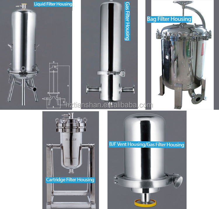 10 inch ss 304 Stainless Steel Water Filter Housing for liquid filtration