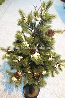 noble fir artificial christmas tree snowing fake christmas tree