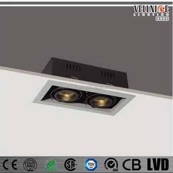 Gimbal Mr16 2x50w Recessed Down Light Fitting,Lamp,Lighting ...
