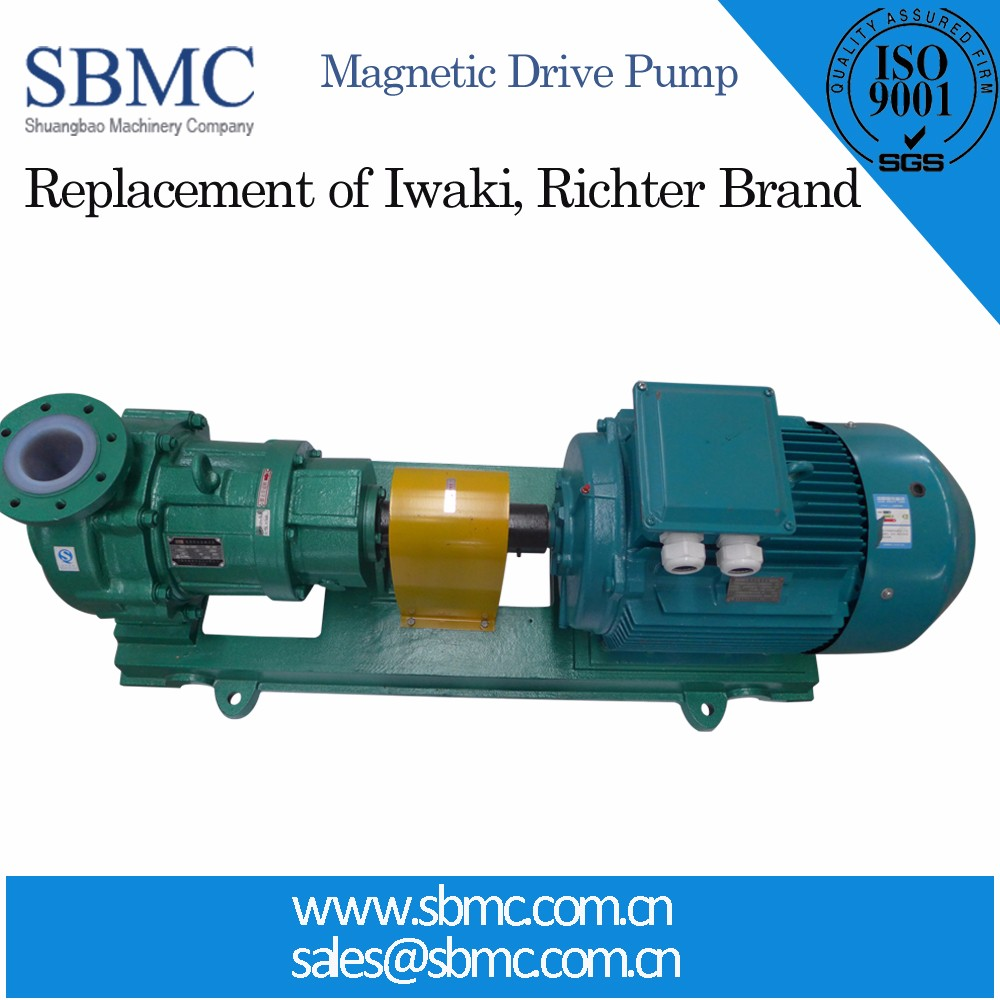 Advanced Technology Magnetic Drive Pumps For Sulphuric Acid Factory