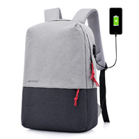 "2020 Fashion Waterproof Day backpack 15.6"" inch laptop backpack bag with hidden zipper"
