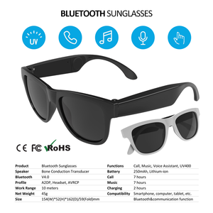 348a59669c Waterproof Mp3 Bluetooth Sunglasses Wholesale
