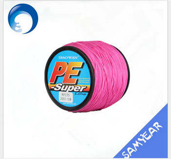 Multifunctional multicolor flourocarbon fishing line made in China