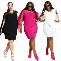 Buy fat women casual dresses Plus Size in China on Alibaba.com