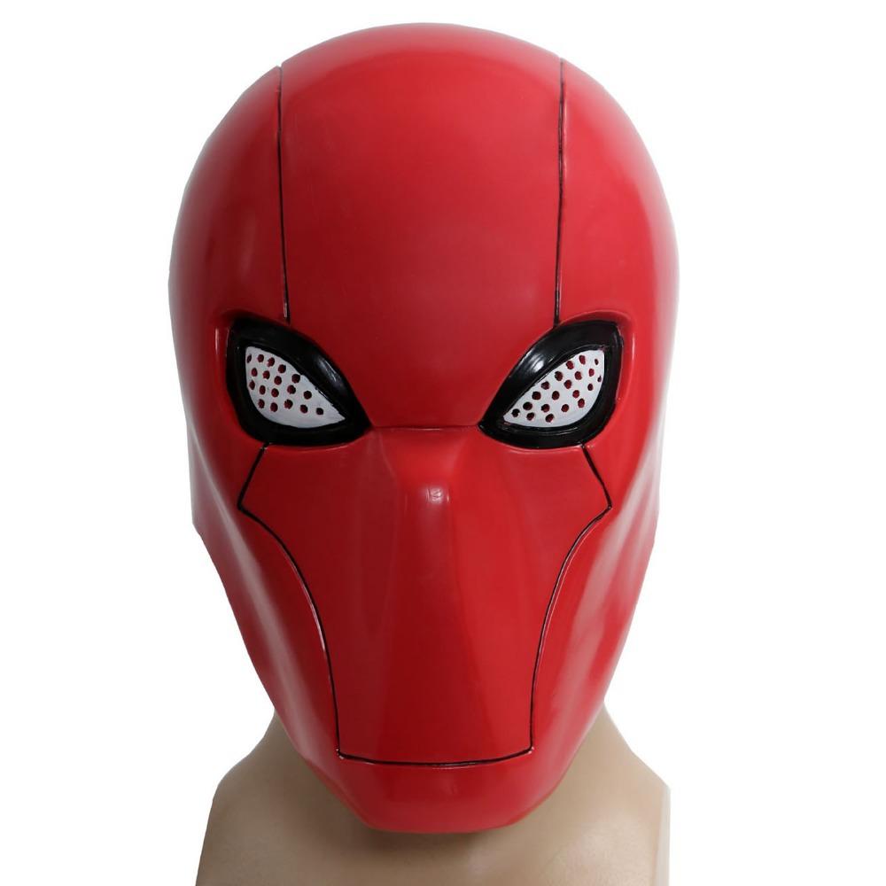 Buy Xcoser Batman Under the Red Hood Mask with Mesh Halloween ...