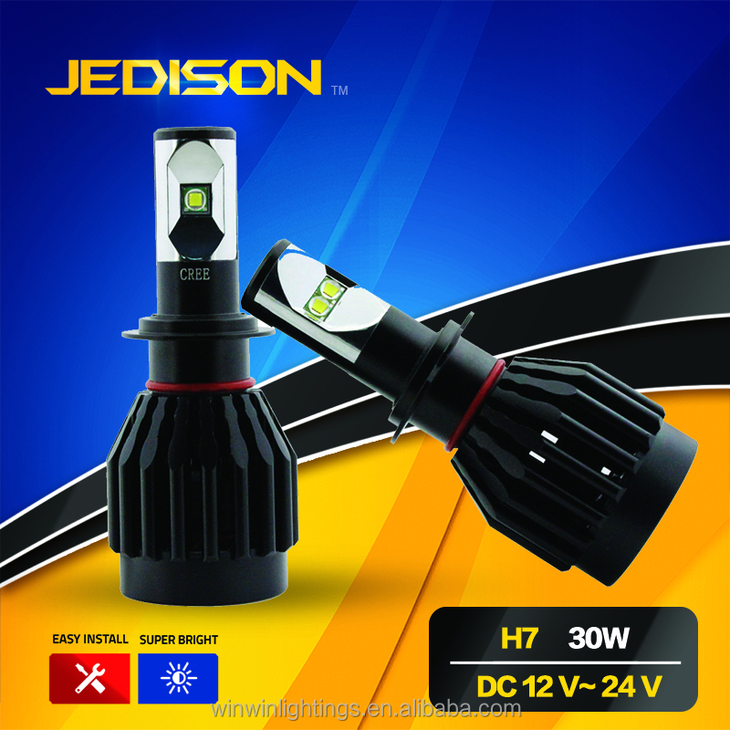 6000K H4 H8 H11 H16 5202 H7 High Power car led Headlamp H7 led car <strong>bulb</strong>