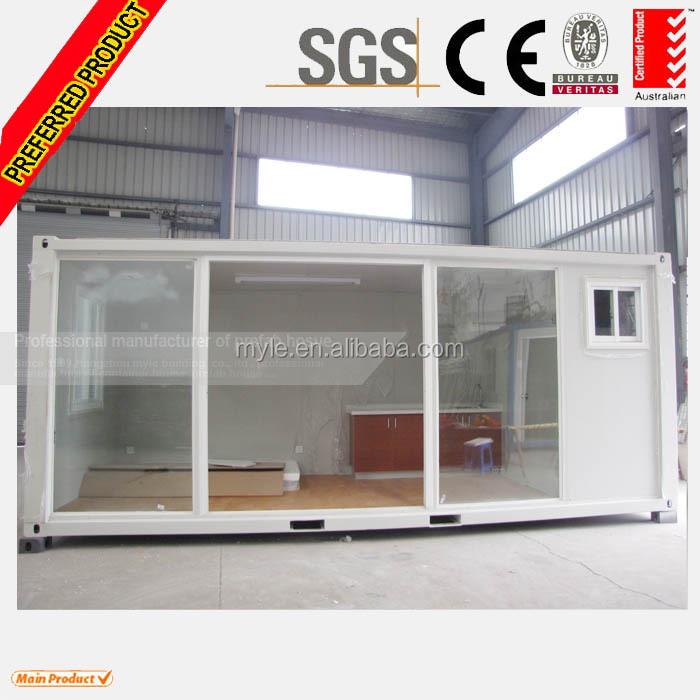 Soggiorno negozio di paese prefabbricate case container - Casa container prezzo ...