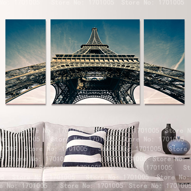 3 panel cool fine art painting Free Shipping home deco art beautiful romantic picture Home Decorative Picture on Canvas Prints