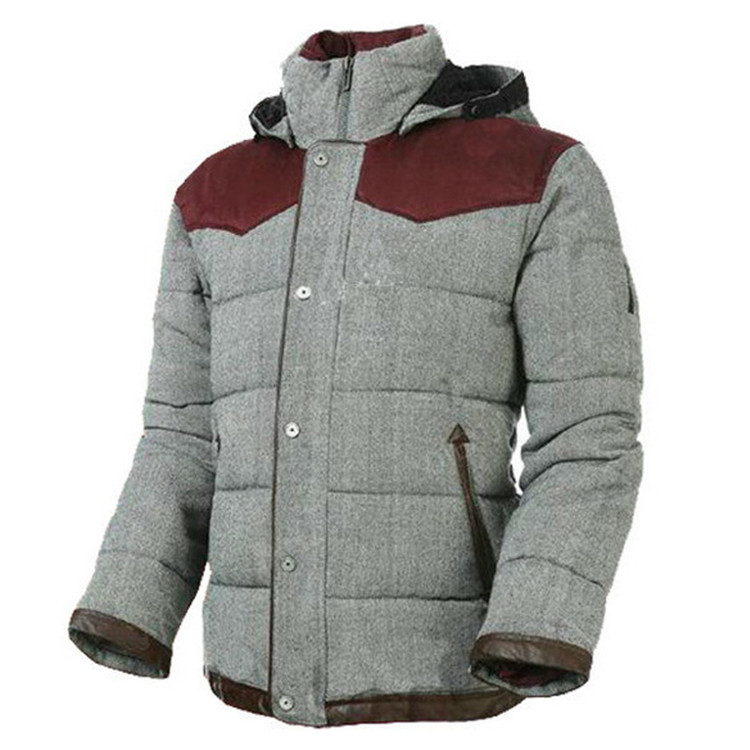2018 Men's winter coat waterproof Outdoor Clothes padded jacket with good quality