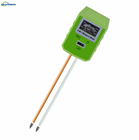 China professional manufacturer digital soil ph moisture light meter with two probes for home garden use