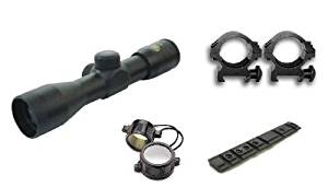 Ultimate Arms Gear Ruger 10/22 Scope Kit : Includes 4x30 Scope+New Generation Weaver Rail Mount+Scope Rings+Lens Covers+Lens Cleaning Kit