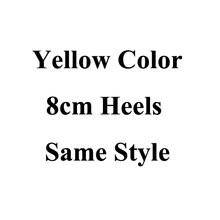 Новинка желтые свадебные туфли с жемчужными и золотыми стразами ручной работы сверкающие дамские туфли-лодочки свадебная обувь выходные т...(Китай)