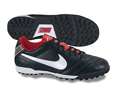 e6601cc02c1e Get Quotations · Nike Tiempo Natural IV Leather Astro Turf Football Boots -  11.5 - Black