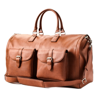 cd8c46558363d High quality personalised duffle bag saffiano leather travel suit garment  bag with shoe bag