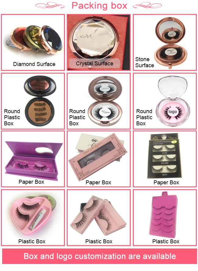 Magnetic Eyelash Package Single Bulk Oem Luxury Brand Name Custom Made  Eyelashes Plastic Eyelash Box Magnet Lashes Oem Makeup, View Oem Makeup,
