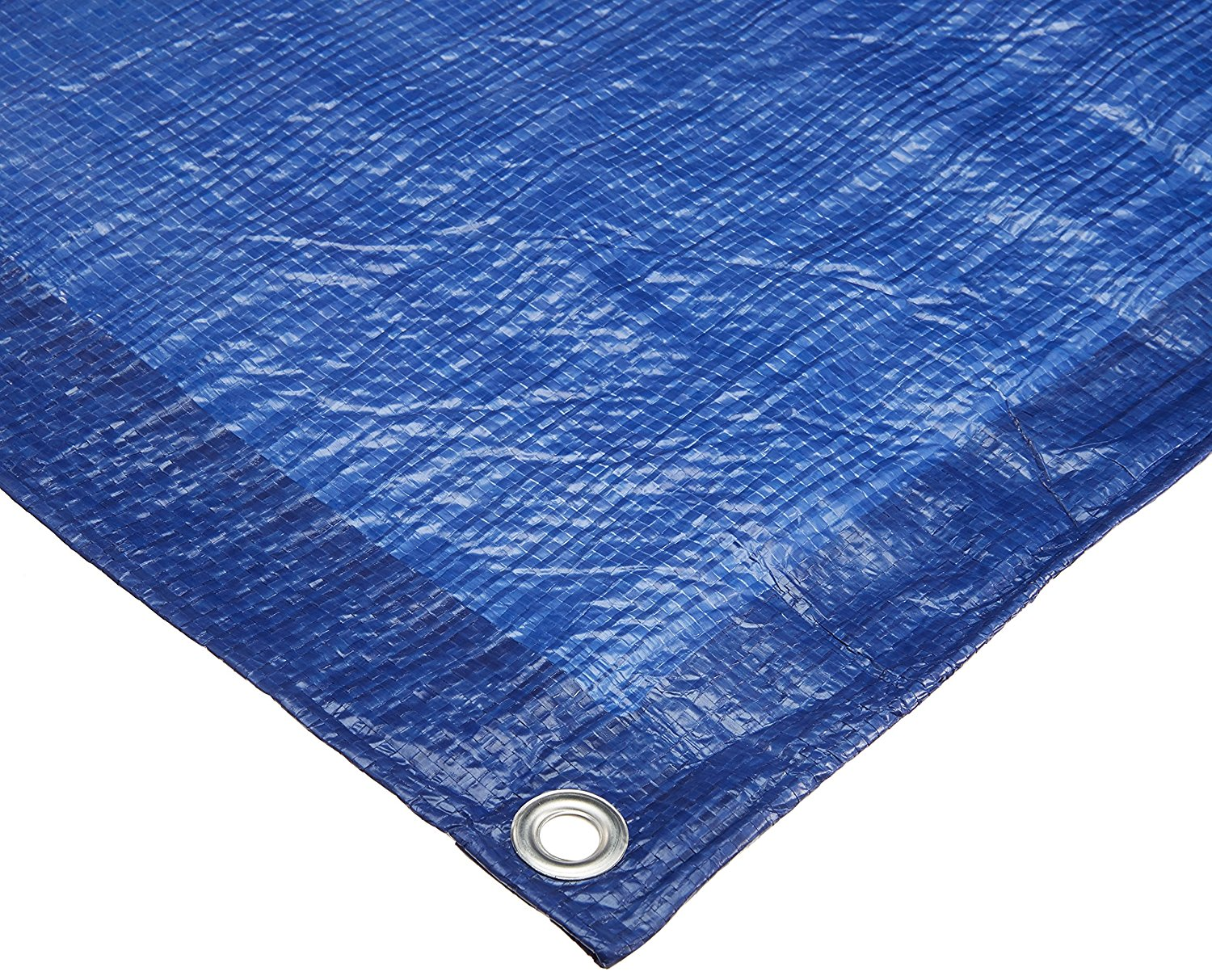 Comfitwear 8'x10' Blue Poly Tarp Cover, Water Proof Tent Shelter Camping RV Boat Tarpaulin