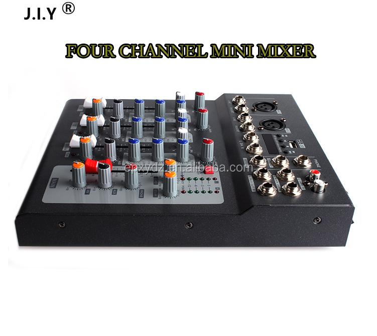 j i y chine fournisseur pas cher prix professionnel powerd mixer f4 4 canal spectacle m langeur. Black Bedroom Furniture Sets. Home Design Ideas