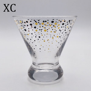 High quality led big glass cocktail with competitive price