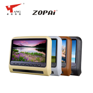 Promotional Price Car Portable 9 Inches Headrest-Hanged DVD Pillow Monitor