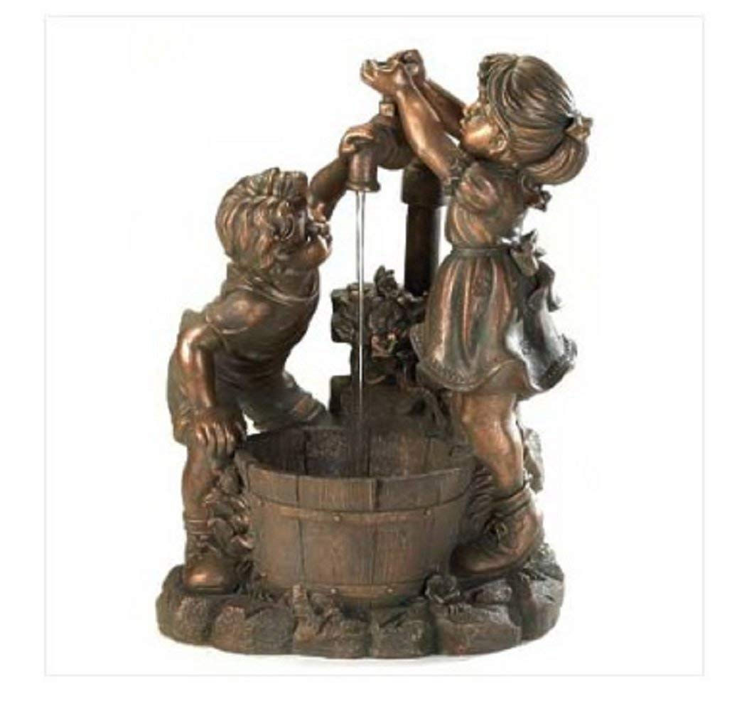 MyEasyShopping Fun And Play Water Fountain with Stand, 19 5/8 x 14 3/8 x 26 1/8 high