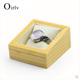 Oirlv OEM Wrist Watch Display Stand For Jewelry Shop Cabinet Bracelet Bangle Solid Wooden Watch Box