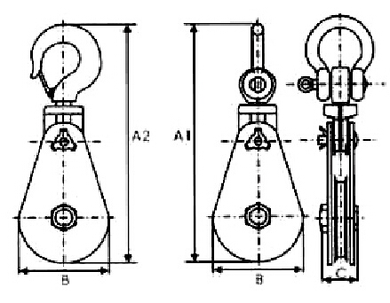 Light Type Snatch Block Pulley Manufacturesuses Of Snatch Block