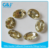 Guojie brand wholesale free sample oval shape for sew on bag with claw rhinestones