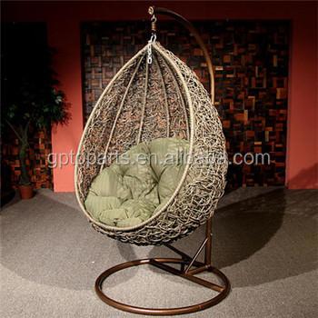 Rattan Garden Furniture Outdoor Hanging Teardrop Chair ...