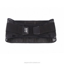 Wholesale black elastic adjustable back lumbar support belt For Working