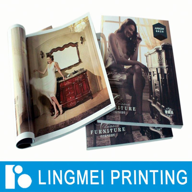 print magazine/ print softcover book /print catal