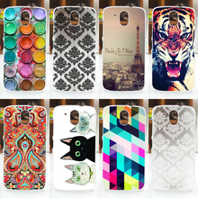 NEW! 2016 HOT Colored Painting Cover Case FOR HTC Desire 526 526G 526G+ 326 326G, FOR HTC Desire 326 526 Phone Back Case Cover