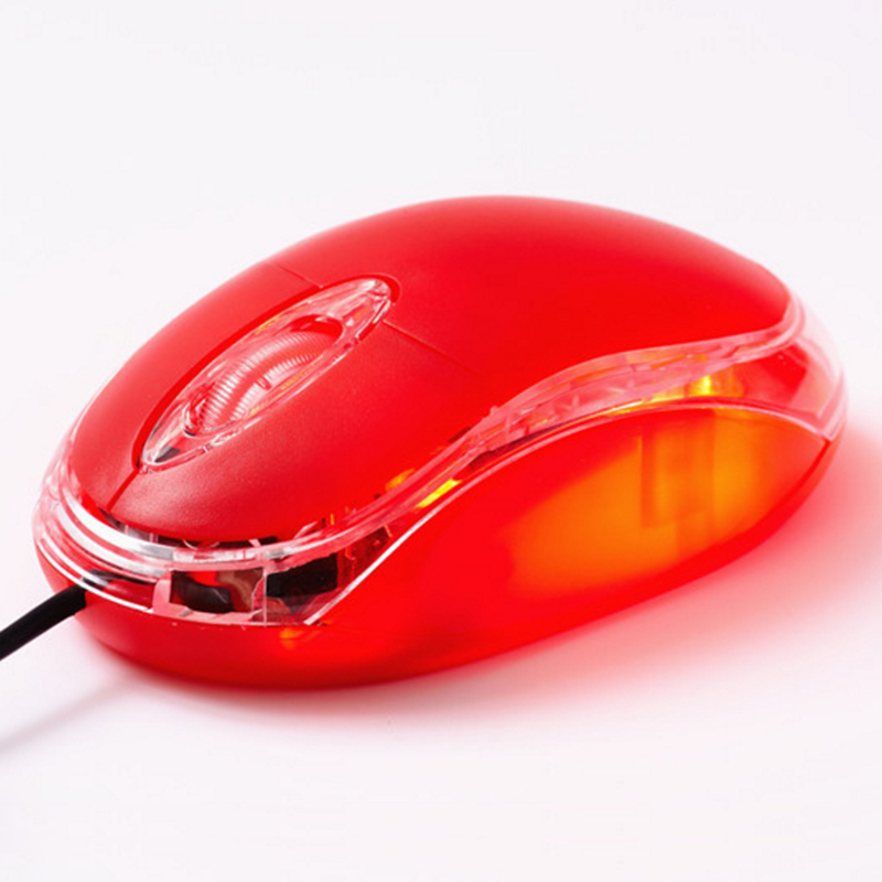 Multicolor The most cost-effective mouse normal USB perfect 24ghz wired mouse