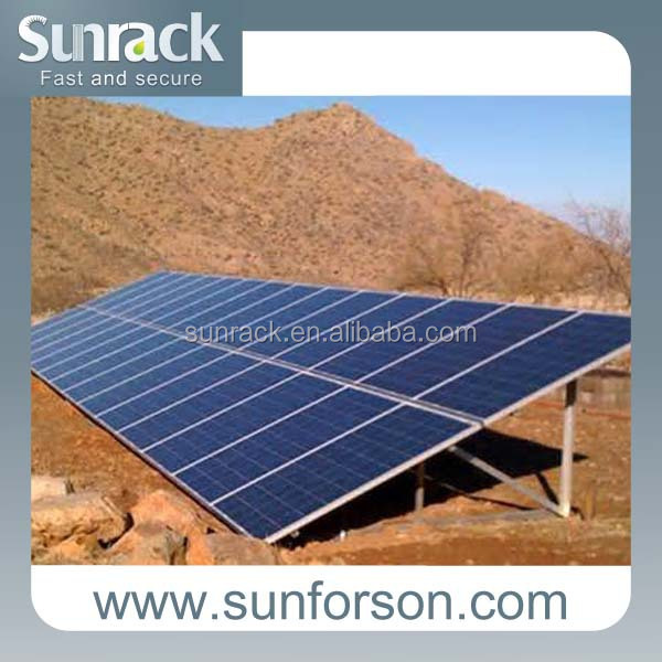 Solar ground screw Photovoltaic mounting