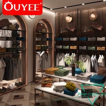 48e67523a7c Modern Men Clothes Store Decoration