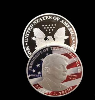 High Quality Matt Gold Eagle Crest Donald Trump President Challenge Coins  2019 - Buy President Challenge Coin,Donald Trump Coin,High Quality Matt  Gold