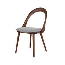 Moderne polster open back dining holz <span class=keywords><strong>stuhl</strong></span>