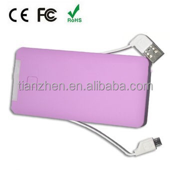 5000mah power bank with usb drive for electronics