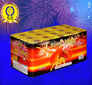 High quality China cheap good lucky commercial fireworks/Display Cakes firework for sale