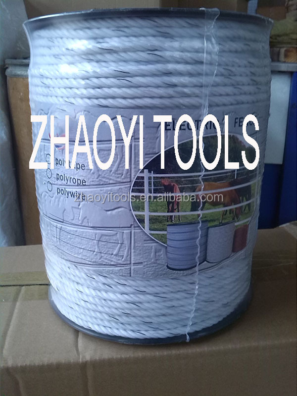 with stainless steel polywire polyrope electric rope