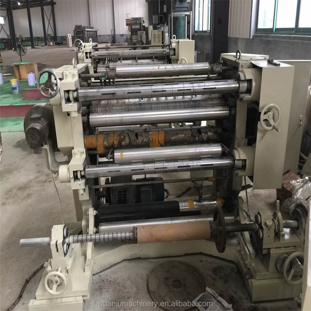 Used 1000mm width Slitting machine for BOPP PET CPP Second hand Slitter