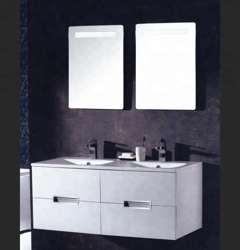 47 Inch Wall Mounted Led Light Mirror Vanity Lowes Bathroom Vanity