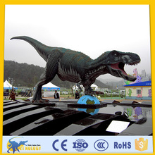 CET-N-134 Cetnology Jurassic Entertainment Equipment Realistic Silicone Fiberglass Dinosaur Model for Kids Playground Decoration