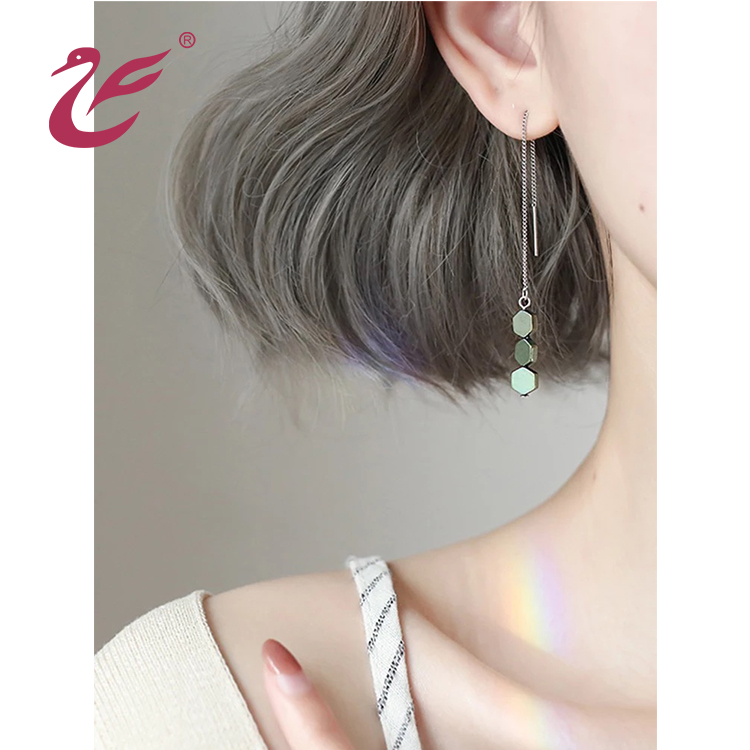 Valentine's day Wholesale custom high quality 925 silver earring wire
