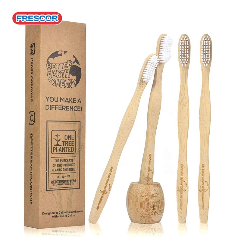 best selling toothbrush black <strong>bamboo</strong> with bpa free bristle