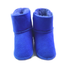 ca89afb03 Fur one piece baby shoes 0-1 year old baby boy girl shoes toddler ...
