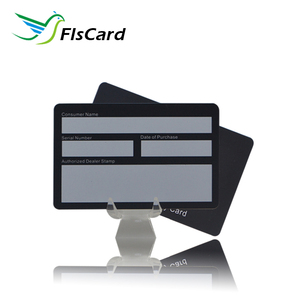 UV finishing card 128Code PVC NFC business card for loyalty system