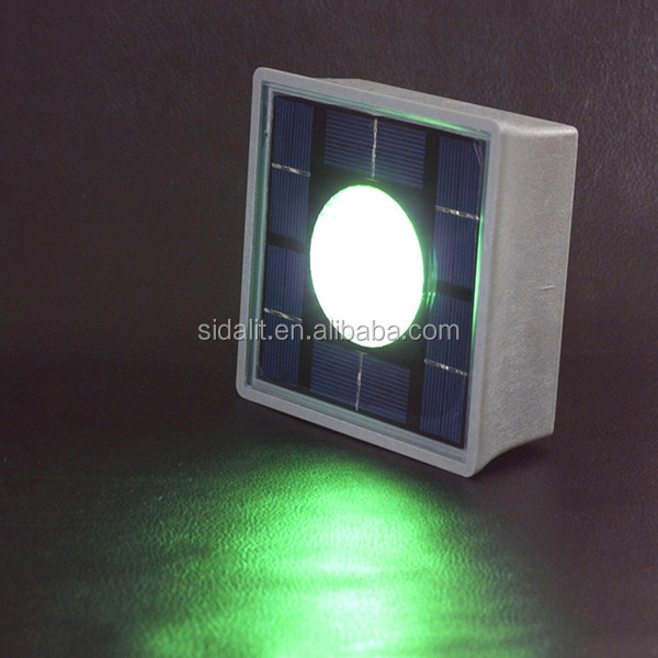Without electric wire ip68 solar waterproof recessed led light