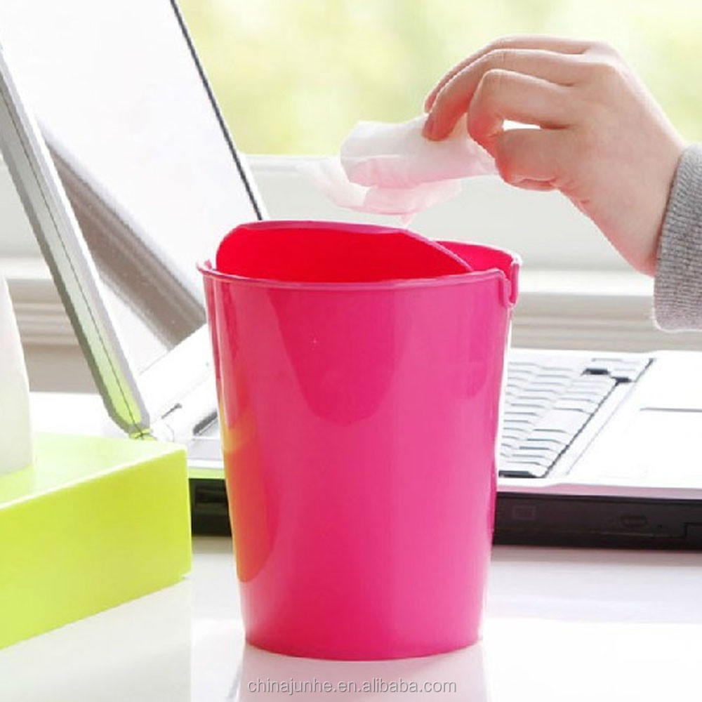 Hot selling durable PP open top waste bin for office